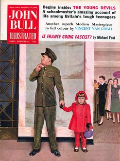 John Bull 1950s UK lost security guards problems disasters magazines