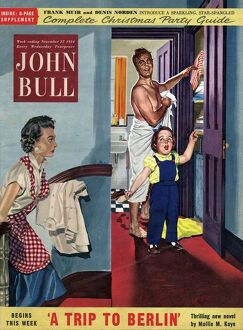 John Bull 1954 1950s UK magazines housewife housewives housekeeping annoyance annoyed