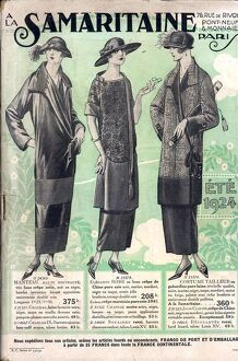 La Samaritaine 1924 1920s france mail Order Catalogue womens