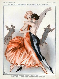 La Vie Parisienne 1931 1930s France cc gay lesbians dancers party