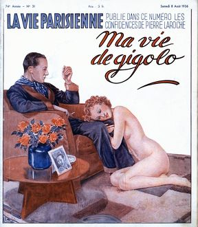 La Vie Parisienne 1936 1930s France magazines couples erotica nudes women affairs