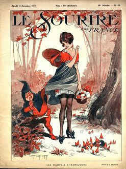 Le Sourire 1917 1910s France pin-ups glamour magazines
