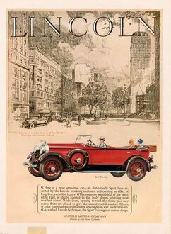 Lincoln 1927 1920s USA cc cars