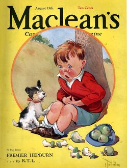 Macleans 1930s USA dogs magazines