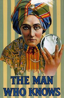 The Man Who Knows 1920s USA Alexander magicians illusions tricks crystal balls fortune