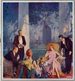 Maxwell House 1920s USA coffee party