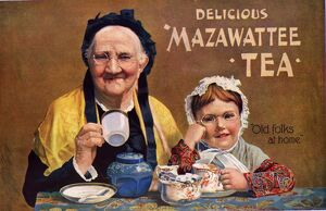 Mazawattee 1890s UK tea