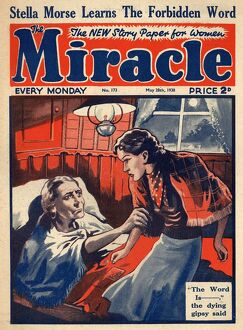 1930s/miracle 1930s uk gypsies death deathbed sick illness