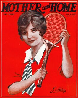 Mother and Home 1915 1910s UK tennis magazines