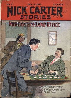 Nick Carter Stories 1912 1910s USA detectives magazines