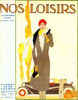 Nos Loisirs 1929 1920s France womens magazines