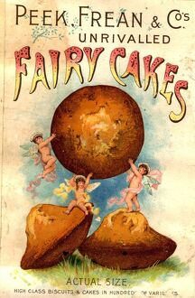 Peek, Frean and Co 1890s UK fairy cakes