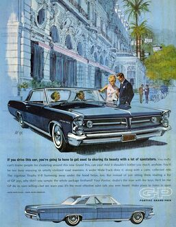 Pontiac Grand Prix 1960s USA luxury gas guzzlers cars