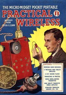 Practical Wireless 1950s UK radios diy hi-fi magazines gadgets do it yourself