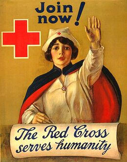 The Red Cross 1910s USA rklf nurses ww1 itnt
