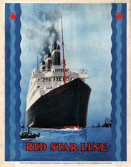 Red Star Lines 1930s USA cruises ships ocean liners nautical
