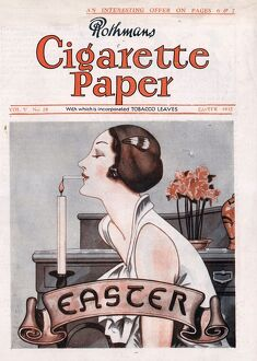 Rothmans Cigarette Paper 1932 1930s UK easter magazines