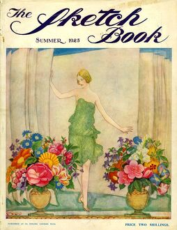 The Sketch Book 1925 1920s UK womens flowers magazines horticulture