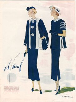 Spanish Fashion 1936 1930s Spain cc pattern books womens suits patterns