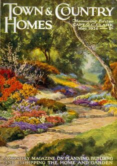 Town & Country Homes 1926 1920s UK countryside magazines horticulture