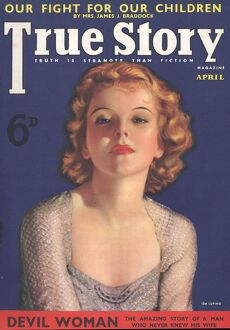 1930s/true story 1930s usa pulp fiction magazines clothing