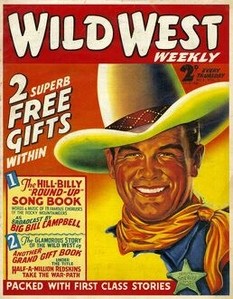 Wild West 1938 1930s USA cowboys westerns pulp fiction first issue magazines