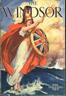 The Windsor 1919 1910s UK first issue magazines