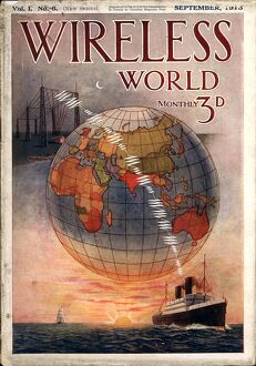 Wireless world 1916 1910s UK radios magazines