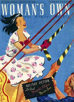 Woman's Own 1947 1940s UK magazines swings fairs