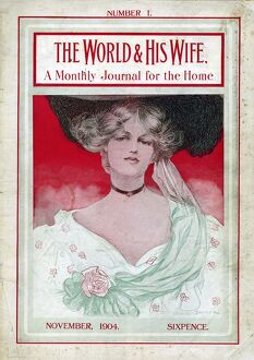 The World and His Wife 1904 1900s UK womens first issue portraits magazines